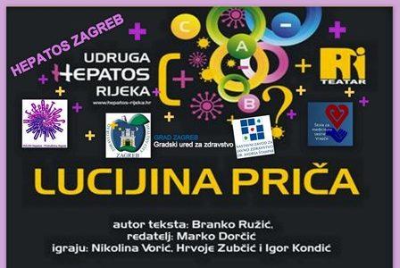 """Edukativna kazališna predstava """"Lucijina priča"""" 19.11. u 12 h"""