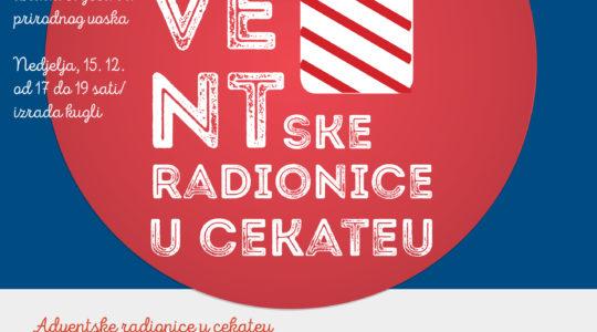 Besplatna adventska radionica u Društvenom domu Prečko 9.12.
