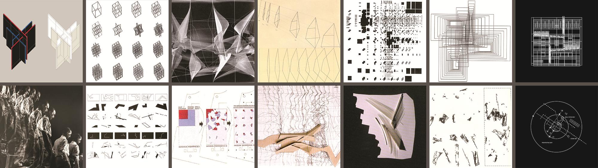 Kompozicija i kompozicijski dijagrami u arhitekturi/ izložba Ivane Tutek
