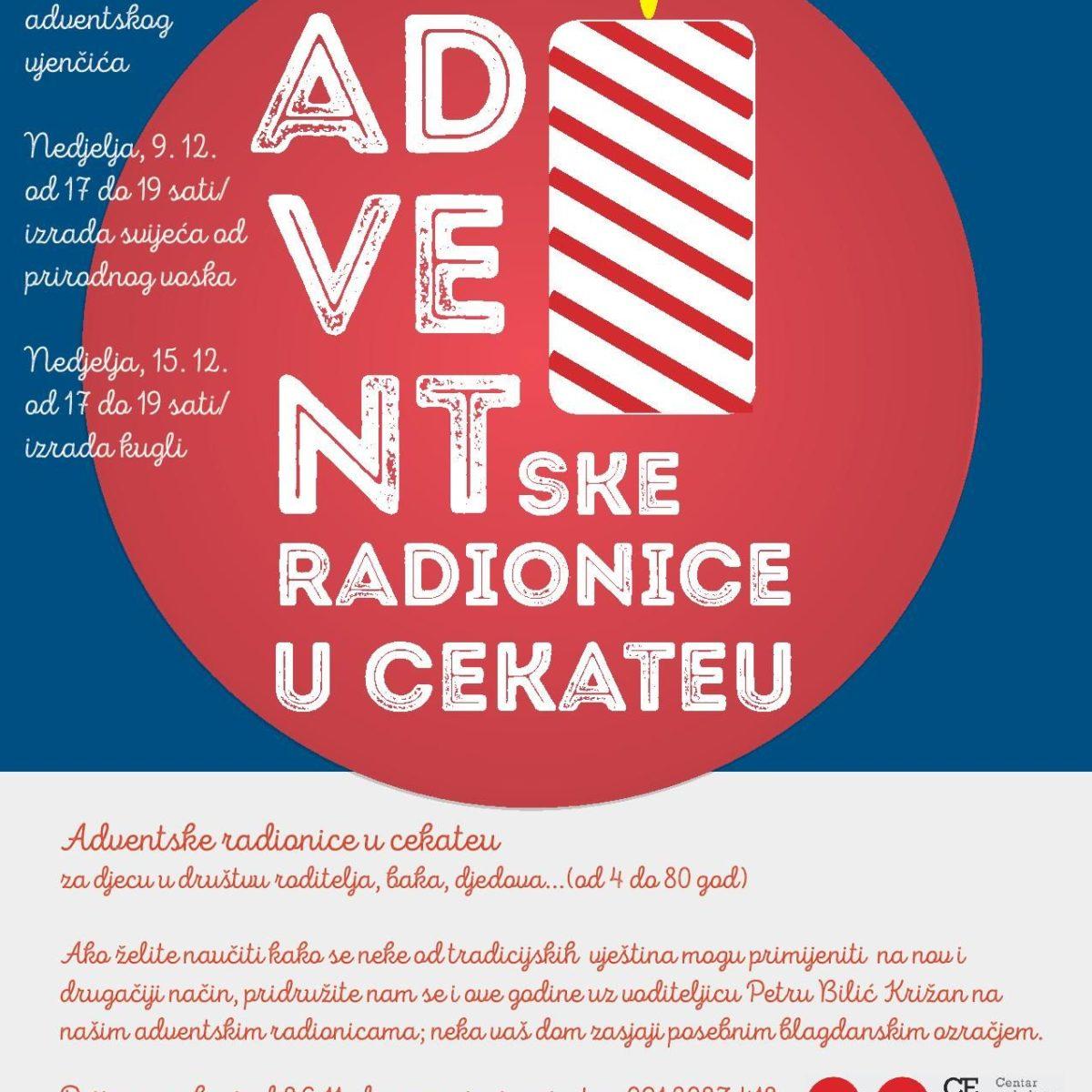 Adventske radionice/izrada kuglica/16.12. od 17 h