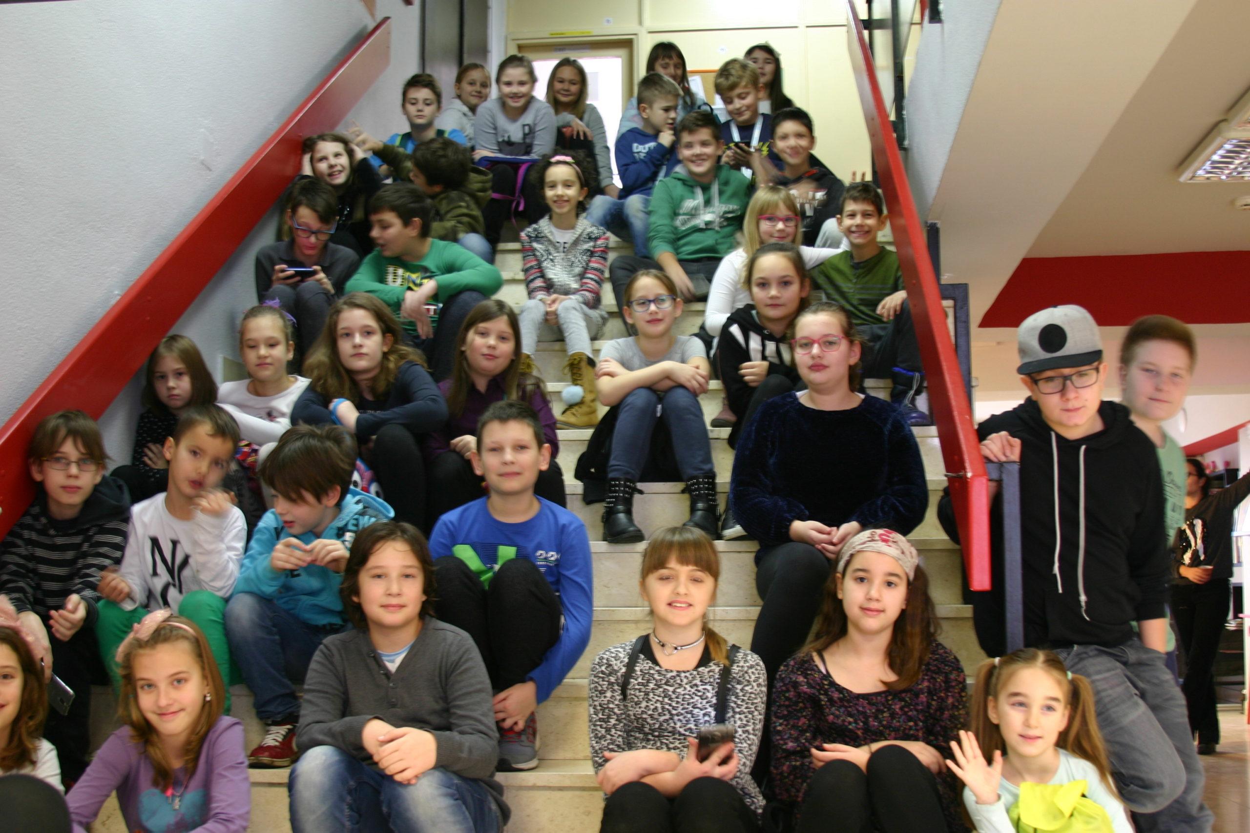Cool school/Zima na Trešnjevci