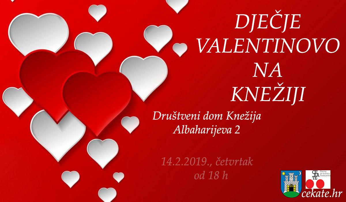 Dječje Valentinovo na Knežiji –  Nek'svud ljubav sja !