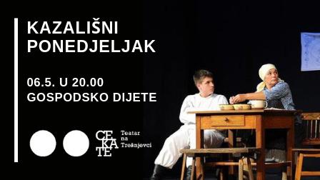 Kazališni ponedjeljak 6.5. u 20 sati VEČER KALMANA MESARIĆA