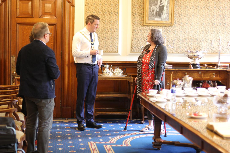 Gradonačelnik Belfasta primio predstavnike projekta Yes We Are In