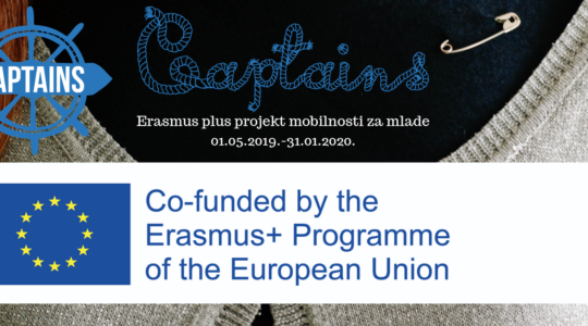 CAPTAINS. Erasmus plus projekt mobilnosti za mlade