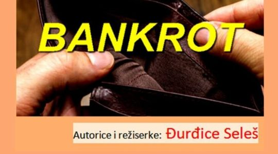 Bankrot – 7.11. u 20 sati