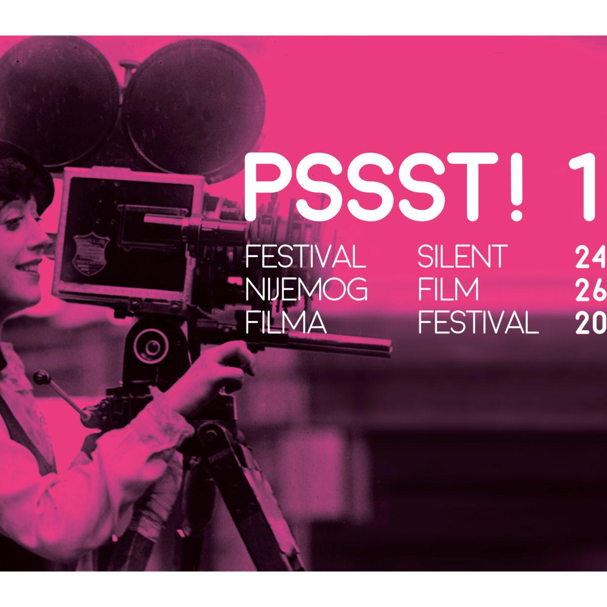 13. PSSST! Festival nijemog filma – Poziv za sudjelovanje – Rok za prijavu 1.10.