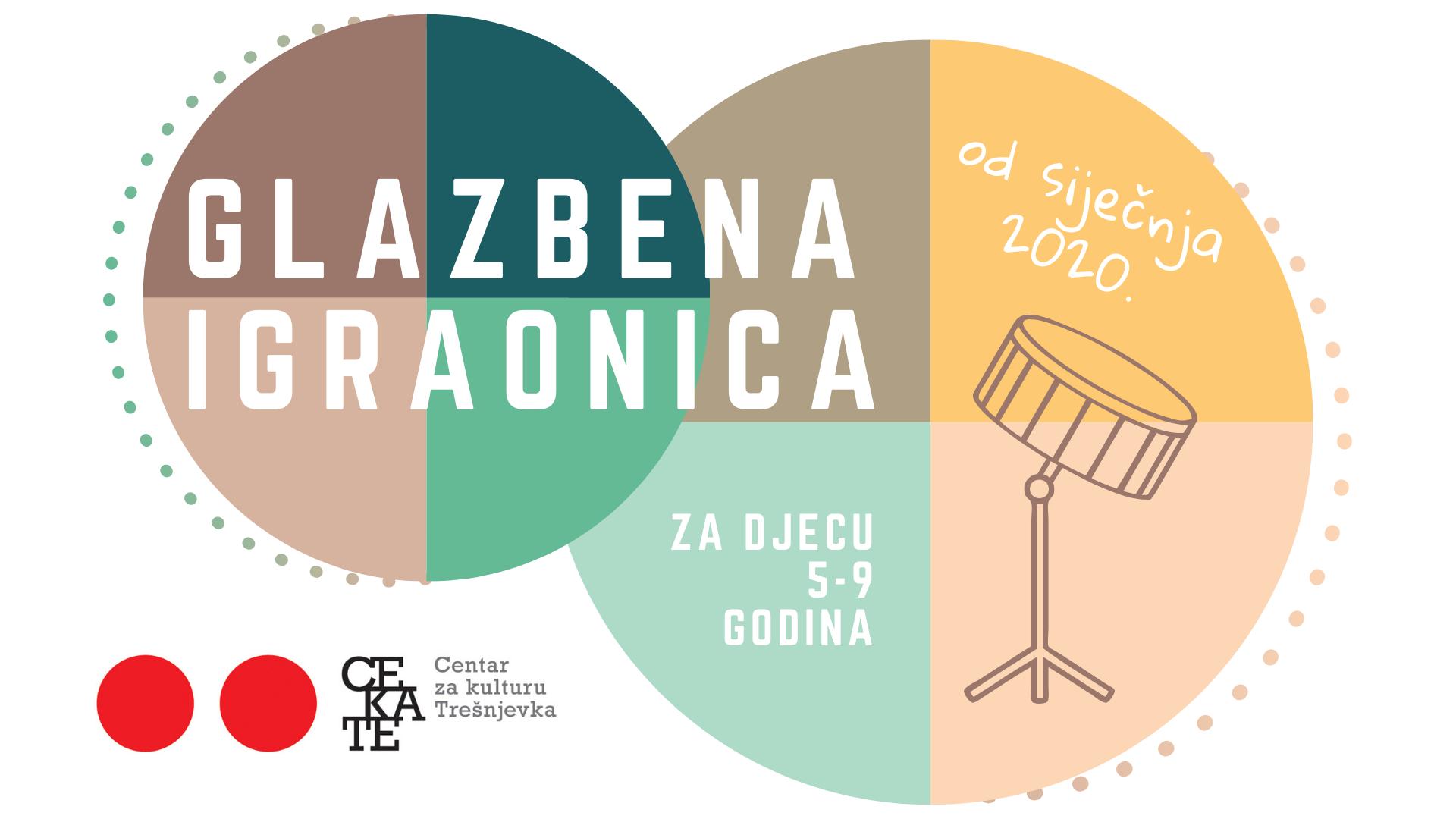 Novi ciklus upisa u glazbene radionice CeKaTe-a 2019./2020.