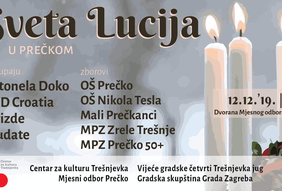 Sveta Lucija u Prečkom 2019.