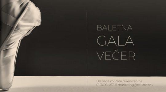 BALETNA GALA VEČER / 15.12. / 18 SATI