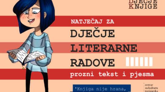 Produljenje roka – Natječaj za dječje literarne radove