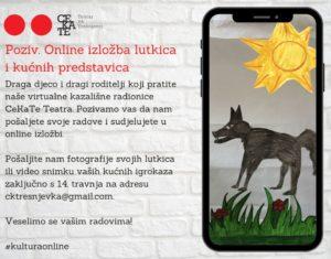 Poziv. Online izložba lutkica i kućnih predstava
