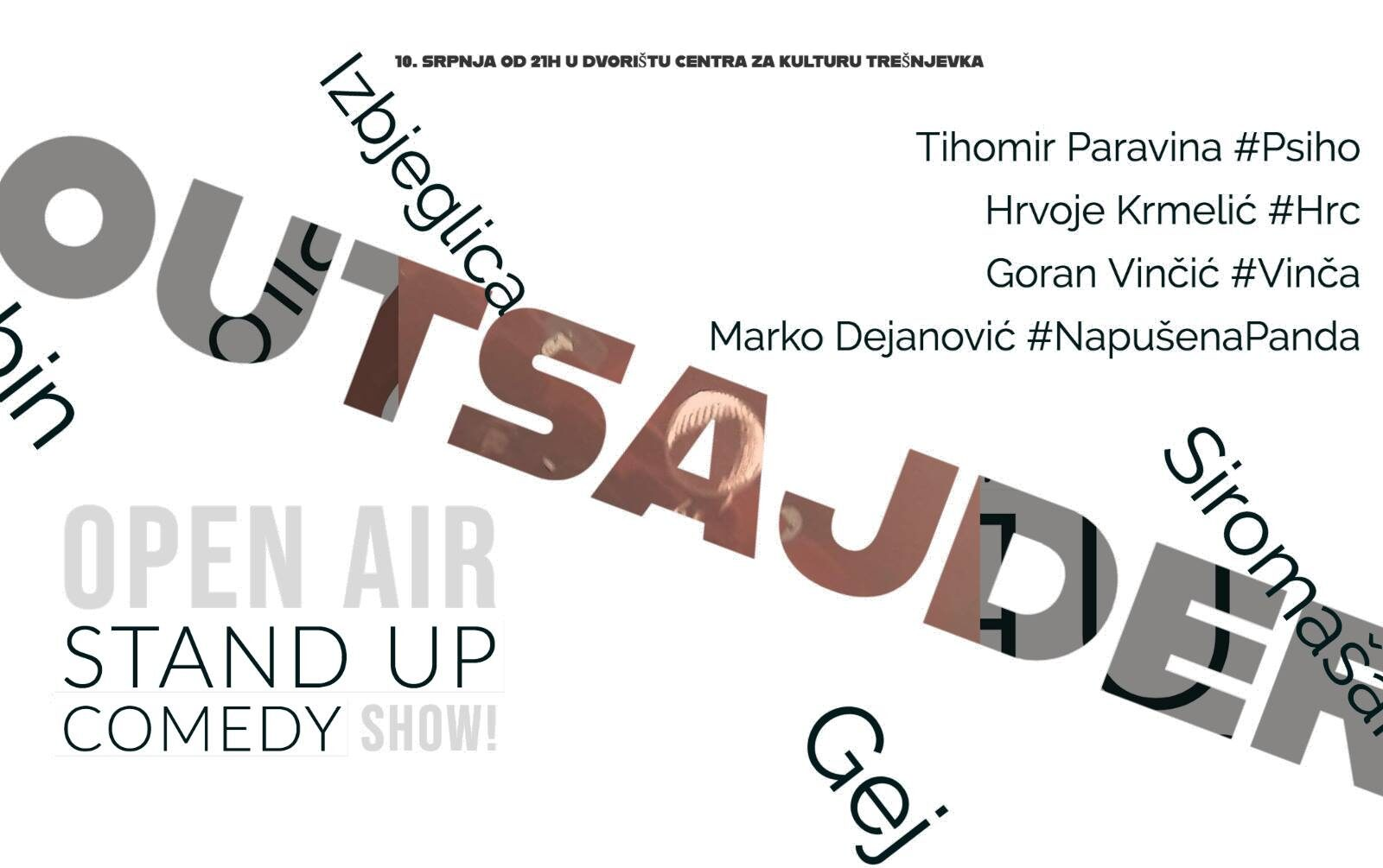 Outsajderi – Stand Up Show