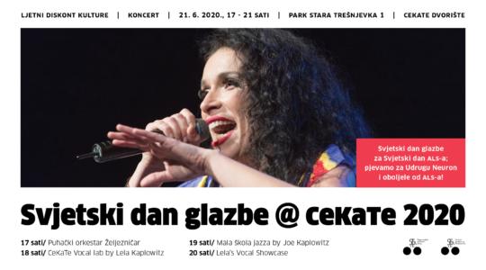 Svjetski dan glazbe@CeKaTe 2020