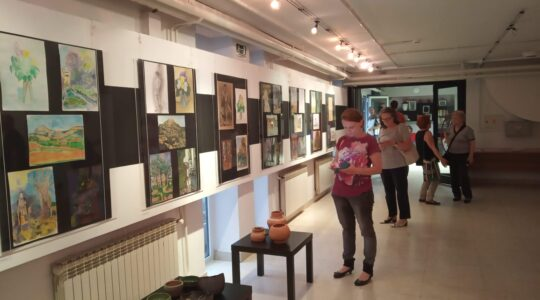 Start art program / Završna izložba polaznika