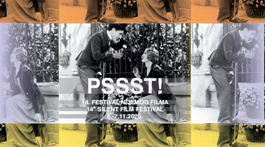 Završen rok za slanje filmova – 14. PSSST! Festival nijemog filma