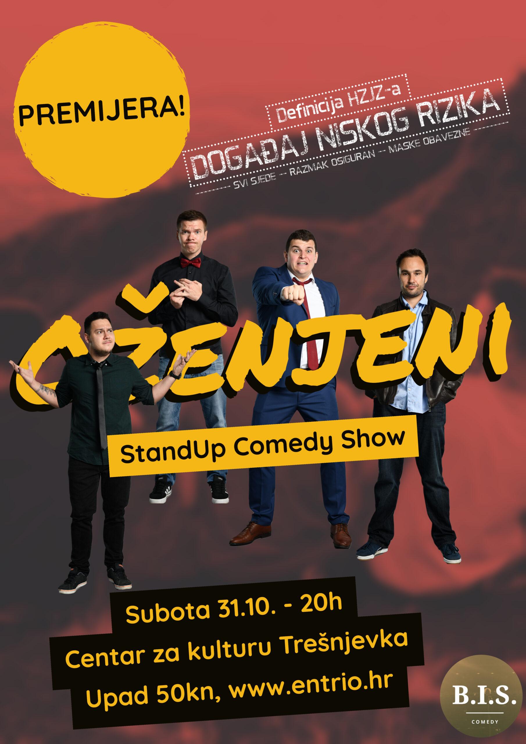 Oženjeni – stand up comedy show