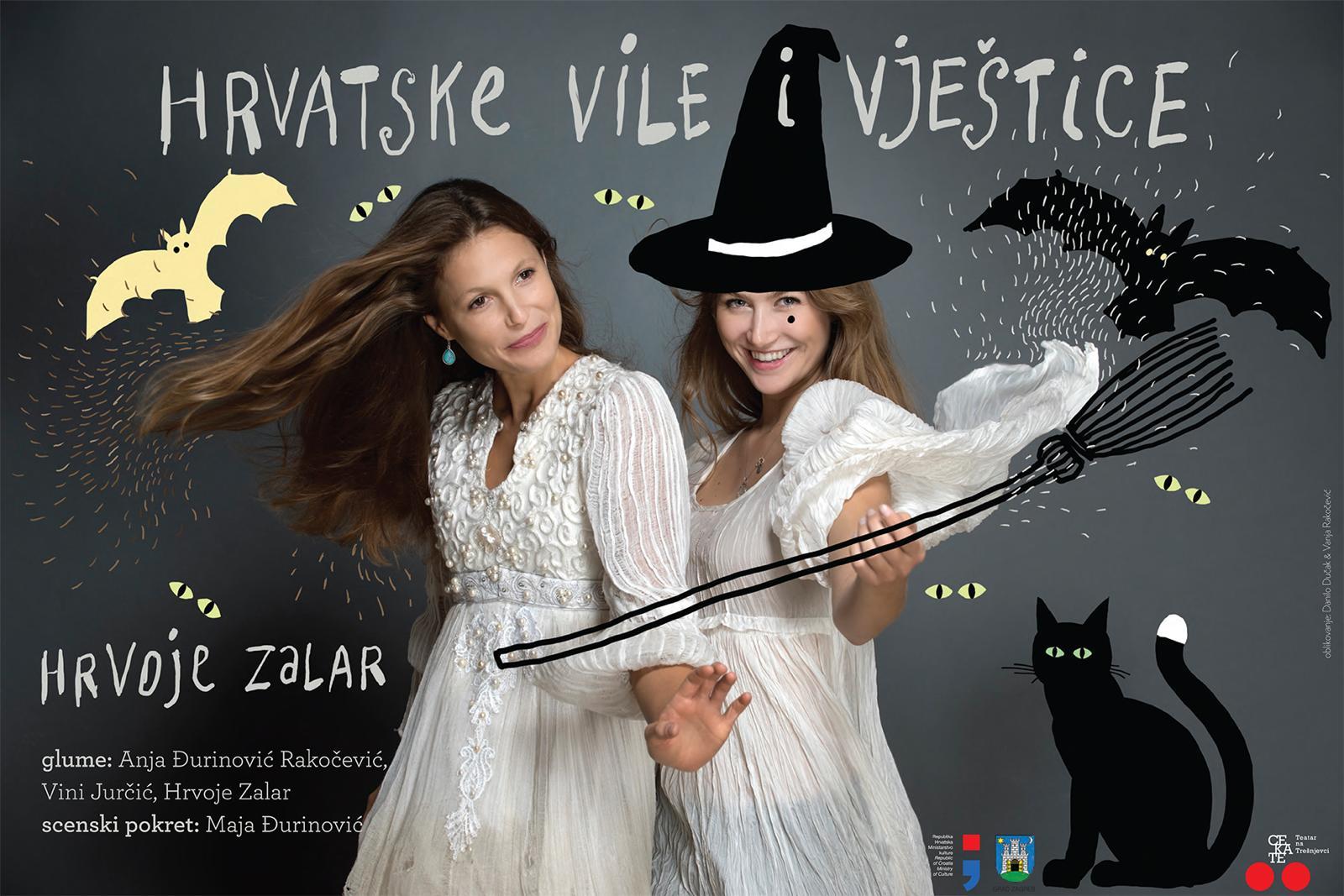 Premijera predstave 'Hrvatske vile i vještice' u Centru za kulturu Trešnjevka