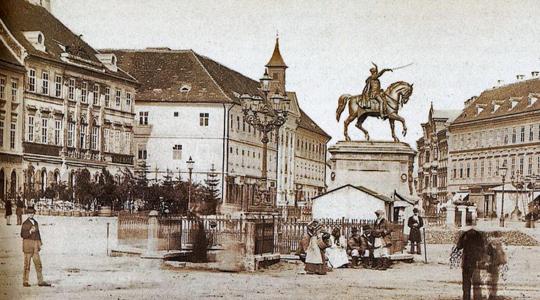 U gostima povijesnom središtu Zagreba, otvorenje izložbe