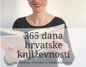 #godinačitanja 365 dana hrvatske književnosti