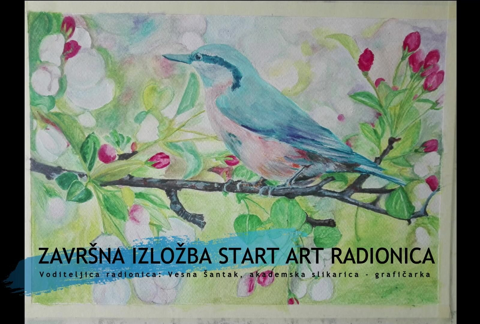 Završna izložba polaznika START ART radionica