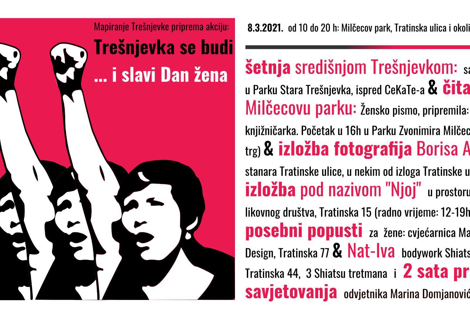 Akcija: Trešnjevka se budi…i slavi Dan žena