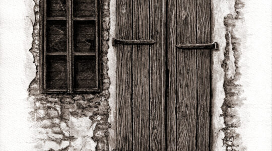 Boris Adamek / Crteži, otvorenje izložbe