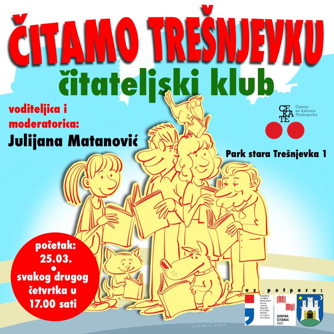 """Čitateljski klub """"Čitamo Trešnjevku"""""""