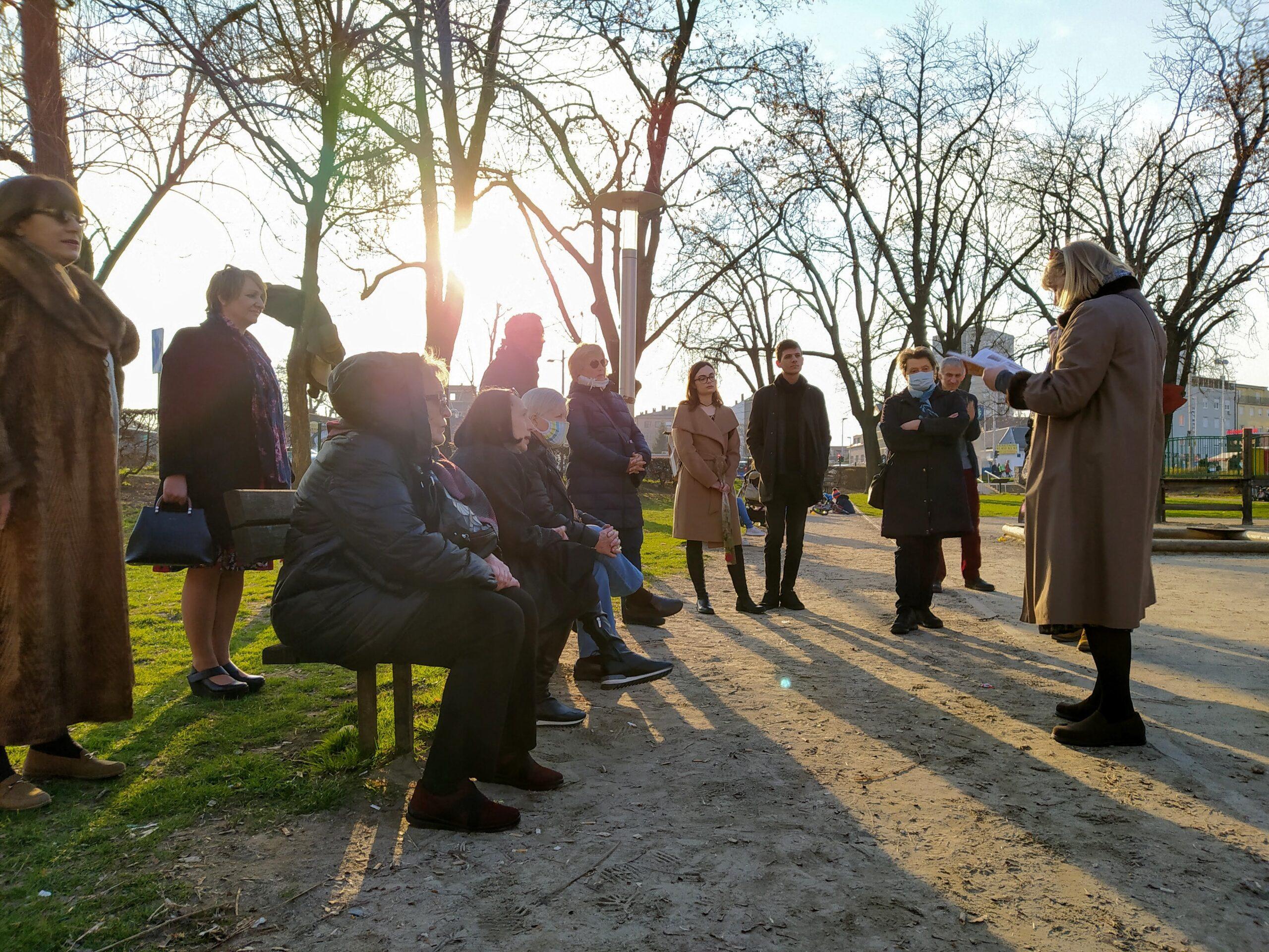 Trešnjevka se budi / Book corner u Milčecovom parku