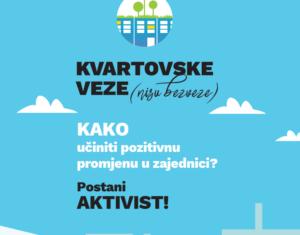 Kvartovske veze (nisu bezveze) – program Švicarsko-hrvatske suradnje u CeKaTe-u