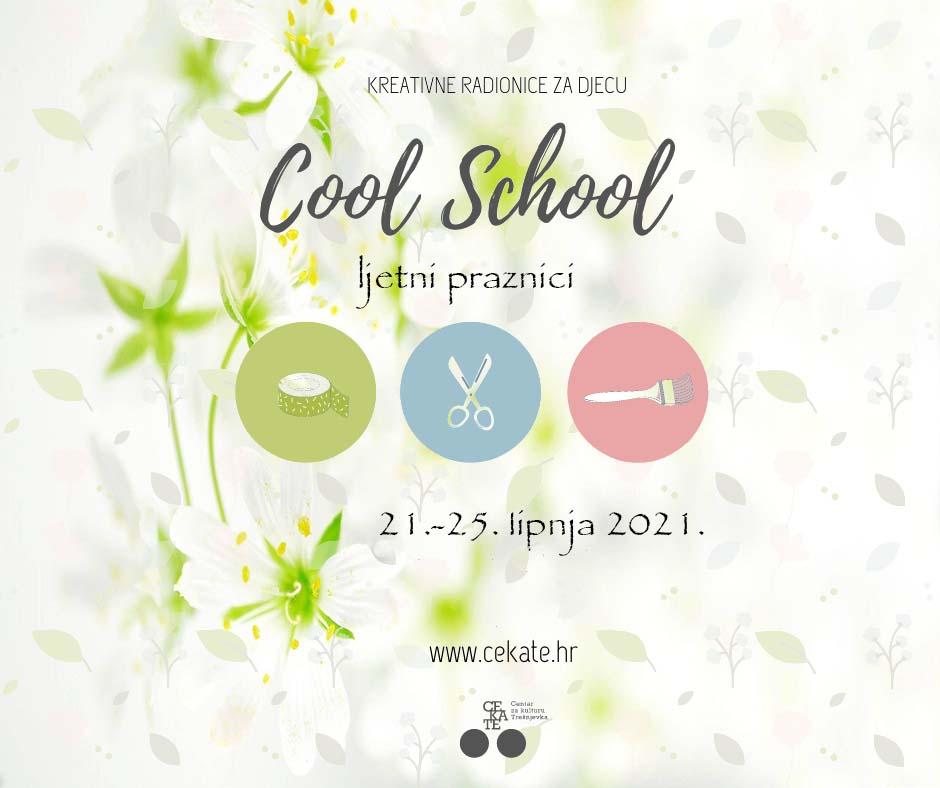 COOL SCHOOL ljetne radionice za djecu